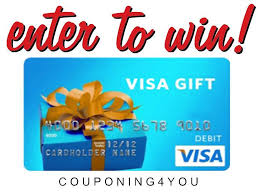how to win gift cards enter to win a 50 visa gift card