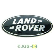 land rover logo black land rover range rover sport supercharged grill badge black