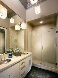33 modern bathroom lighting ideas corner burly wood prism shower