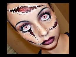 easy diy halloween costumes creepy doll makeup tutorial youtube halloween series 2011 living doll makeup tutorial youtube