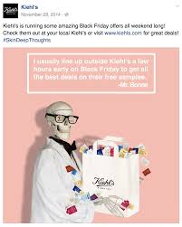 williams and sonoma black friday kiehl u0027s black friday 2017 sale u0026 deals blacker friday