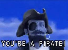 Pirate Meme - you are a pirate techno remix basshunter style you are a