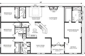 ranch house floor plans ranch house floor plans 4 bedroom this simple no simple