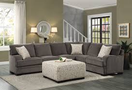 Sectional Sofa Set Homelegance Alamosa Sectional Sofa Set Chenille Brown 8335