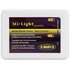 Led Wifi Light Bulb by Milight Wifi Rgbw Led Light Bulb Controller For Ios And Android