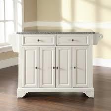 granite top kitchen island darby home co abbate kitchen island with granite top reviews