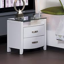 incredible mirrored glass nightstand catchy bedroom decorating