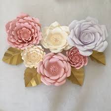 how to create paper leaves for your giant paper flowers go to my