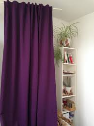 Purple Home Decorations by Decorating Enchanting Tension Rod Room Divider For Inspiring