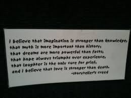 storyteller u0027s creed u2013how do you feel about this the skeptvet