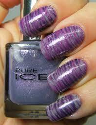 deez nailz fan brush nail art