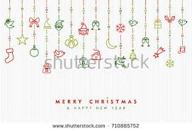 New Year Greetings Decoration by New Year Christmas Greetings Card Stock Vector 354609998