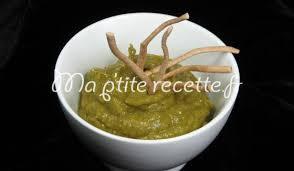 cuisiner des poivrons verts dip de poivron vert recette apéritif poivron