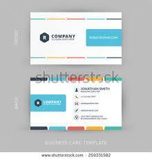 Flat Design Business Card Business Card Design Stock Images Royalty Free Images U0026 Vectors