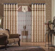 Light Brown Sofa by Room Curtains Wood Varnished Back Chair Crystal Contemporary