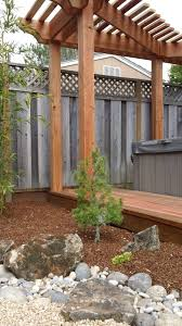 Japanese Style Pergola by Living Waters Landscaping Asheville Japanese Gardening Asheville
