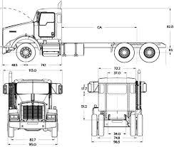 kenworth t800 truck blueprints trucks kenworth kenworth t800 sf 2016