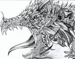 pencil sketches of dragons 25 stunning and realistic dragon