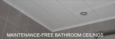 bathroom ceiling material