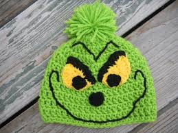 craftdrawer crafts crochet a christmas grinch hat pattern
