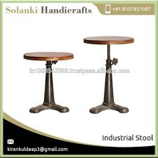 Industrial Metal Bar Stool Fixed Vintage Industrial Metal Bar Stools Buy Metal Bar Stools