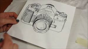 diy vintage canon camera t shirt with free illustration youtube