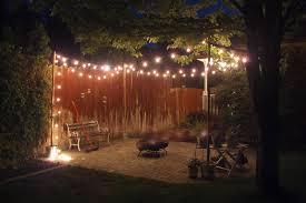 Bistro Lights Wholesale 25 Socket Outdoor Patio String Light Set G50 Clear Globe Bulbs