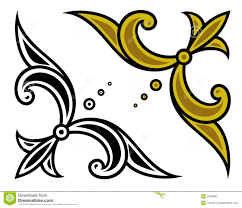 vector corner ornament stock photography image 3436982