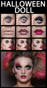 halloween makeup see more about halloween doll halloween and