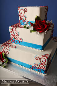 red white u0026 blue 84ribbons red white blue wedding cake and