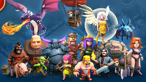 clash of clans all troops image for clash of clans troops wallpaper hd clash of clans