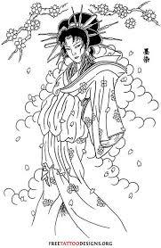 tattoo designs uk men geisha tattoo design