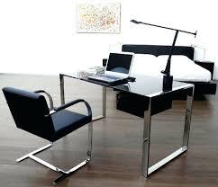 Glass Top Desk Office Depot Home Office Pleasing Glass Top Office Desks Photos Glass Top