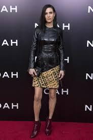 jennifer connelly wearing louis vuitton at u0027noah u0027 new york city