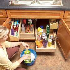 under kitchen sink storage solutions under kitchen sink pull out storage my web value