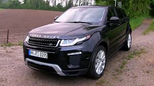 land rover small 2016 range rover evoque td4 150 hp test drive by test drive