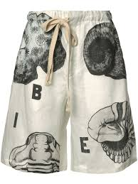 loewe flamenco knot bag celebrity loewe shell print shorts 2110