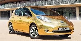 gold nissan car nissan u0027s gold olympics edition ev and more in the week that was