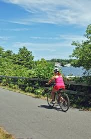 ride your bike on the cape cod rail trail miles of scenic trails