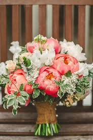 wedding flowers june uk gorgeous relaxed rustic coral peony filled barn wedding coral