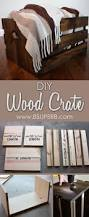 Wooden Crate Shelf Diy by Best 25 Crates Ideas On Pinterest Crate Shelves Crate