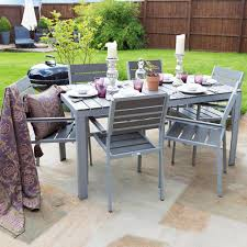 6 Seater Patio Furniture Set - buy outdoor furniture polywood dining table set 6 seater at