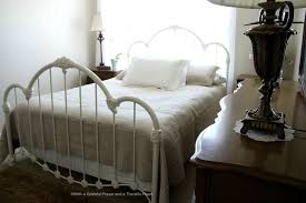 Used White French Provincial Bedroom Furniture French Provincial Queen Bed Frame Queen Size Upholstered Fabric