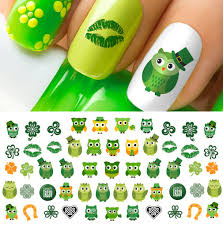 st patrick u0027s day luck of the irish nail decals 61 decals