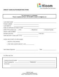 Sample Of Authorization Letter For Receiving Credit Card Credit Card Authorization Forms U2022 Hloom Com