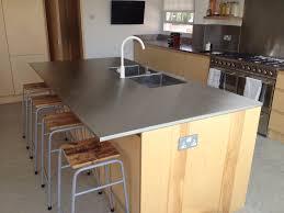 kitchen island stainless kitchen laminate wooden floor two level kitchen island wooden