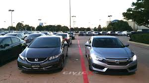 difference between honda civic lx and ex 2016 honda civic 10th vs 2015 civic 9th comparison