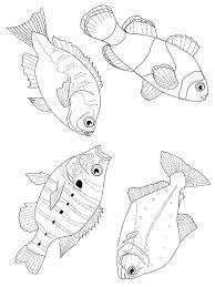 coloring page fish fish on kids n fun co uk on kids n fun you