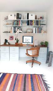 Tall Computer Desk With Shelves Instead Of Having A Tall Filing Cabinet Darkening A Corner Why