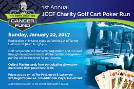 golf cart poker run on jan 22 the winter garden magazine